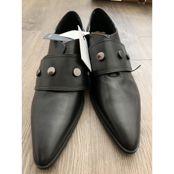 Leather Pointed Monk Shoes | Poshmark